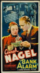 Bank Alarm 1937 DVD - Conrad Nagel